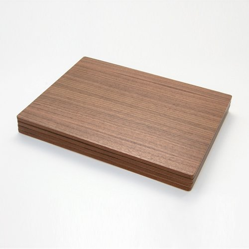 Awesome Walnut Veneer Placemats