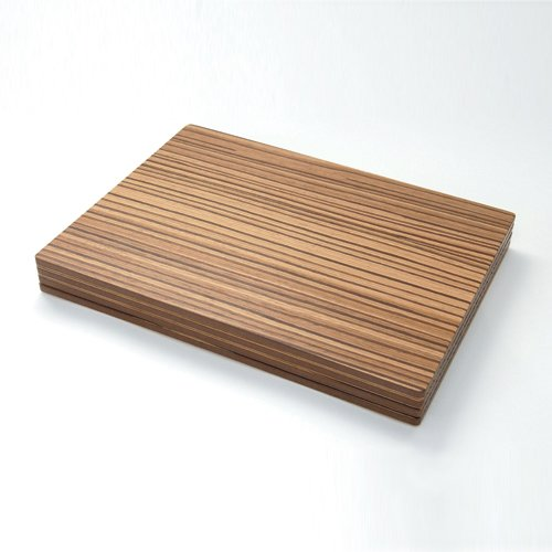 Placemats - Zebrano Veneer - Zebrano : simply tabletop